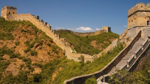Might mall. The Great Wall of China will re-open as the world's biggest mall.